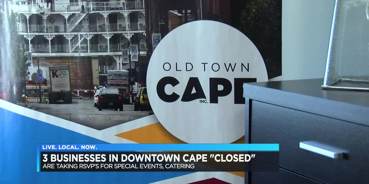 3 businesses in downtown Cape Girardeau closed