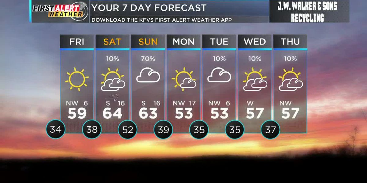 First Alert forecast at noon 4/9
