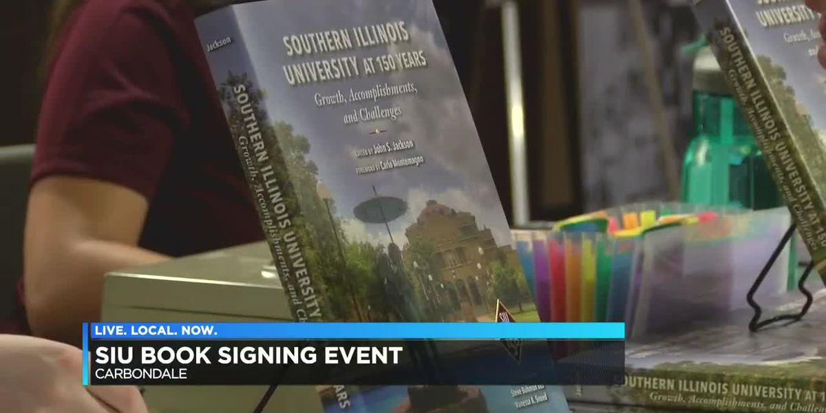 SIU book signing event