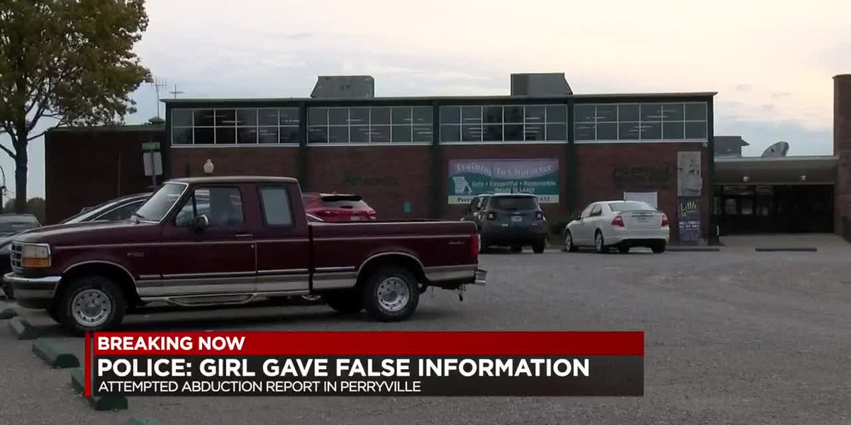 Police: Girl gave false information in attempted abduction report