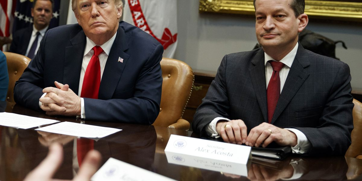 Acosta exits; Trump's big Cabinet turnover keeps growing