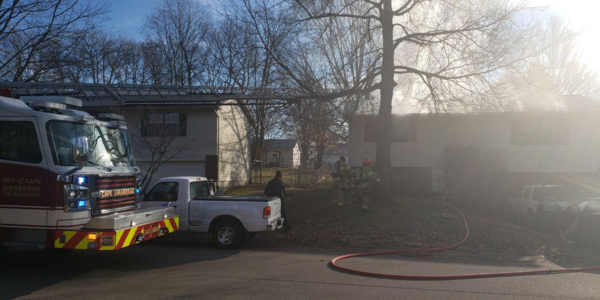 Shorted clock may have started fire in Cape Girardeau home