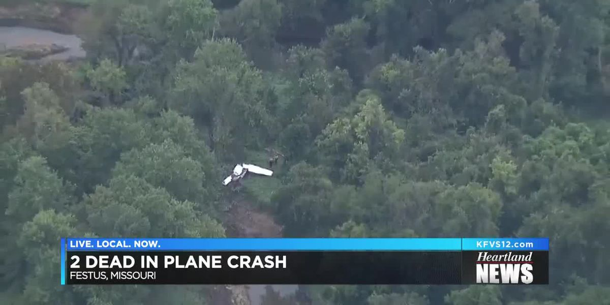 2 killed in plane crash near Festus, MO