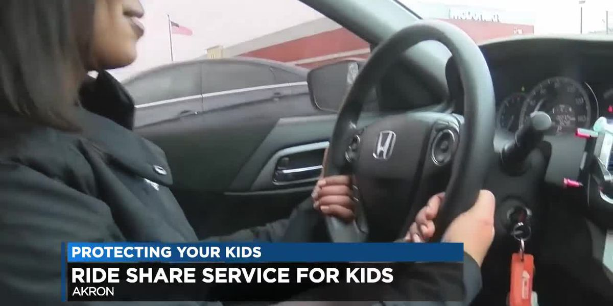 Uber-like ride hailing service for kids started by Akron woman