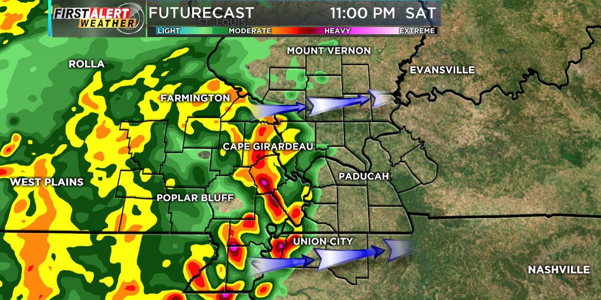 First Alert: Thunderstorms, possible severe, tonight