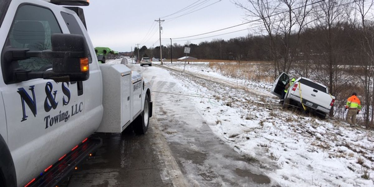 Tow companies busy during winter weather