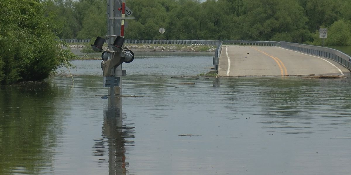 Rising waters in St. Mary is changing traveling routes for many people
