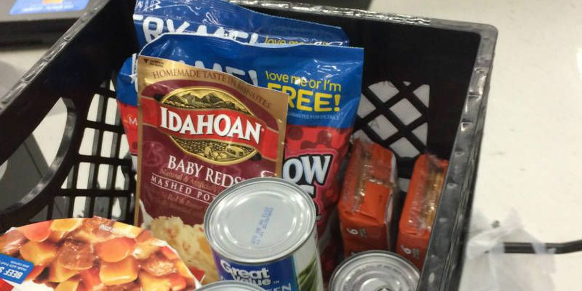 Over 10,000 pounds of food collected for flood relief