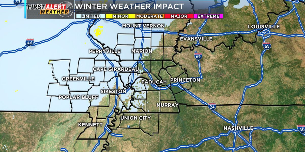 First Alert: Winter Weather Advisories issued for our western counties tonight