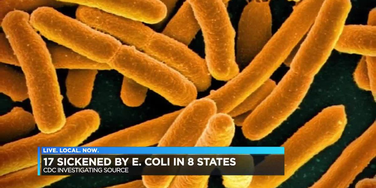 17 sickened by E coli in 8 states