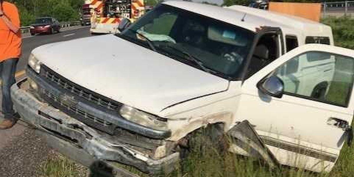 1 injured in I-24 McCracken County, KY crash