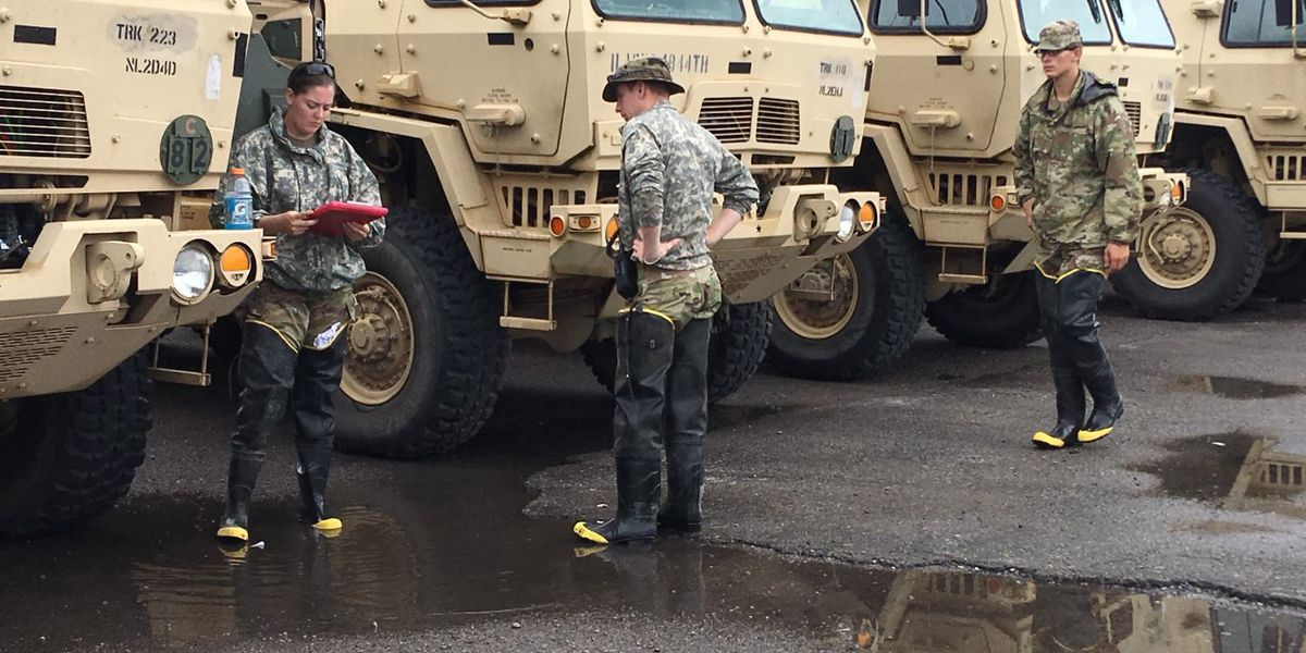Ill. Army National Guard soldiers to leave East Cape Girardeau; still 'risky' to restore power, let residents return home