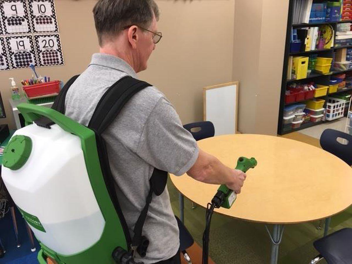 Heartland Schools keeping classrooms clean during flu season