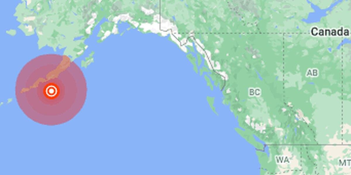 7.5 magnitude quake off Alaska prompts tsunami warning