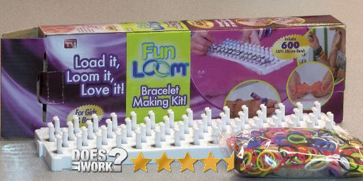 Does It Work: Fun Loom Bracelet Making Kit