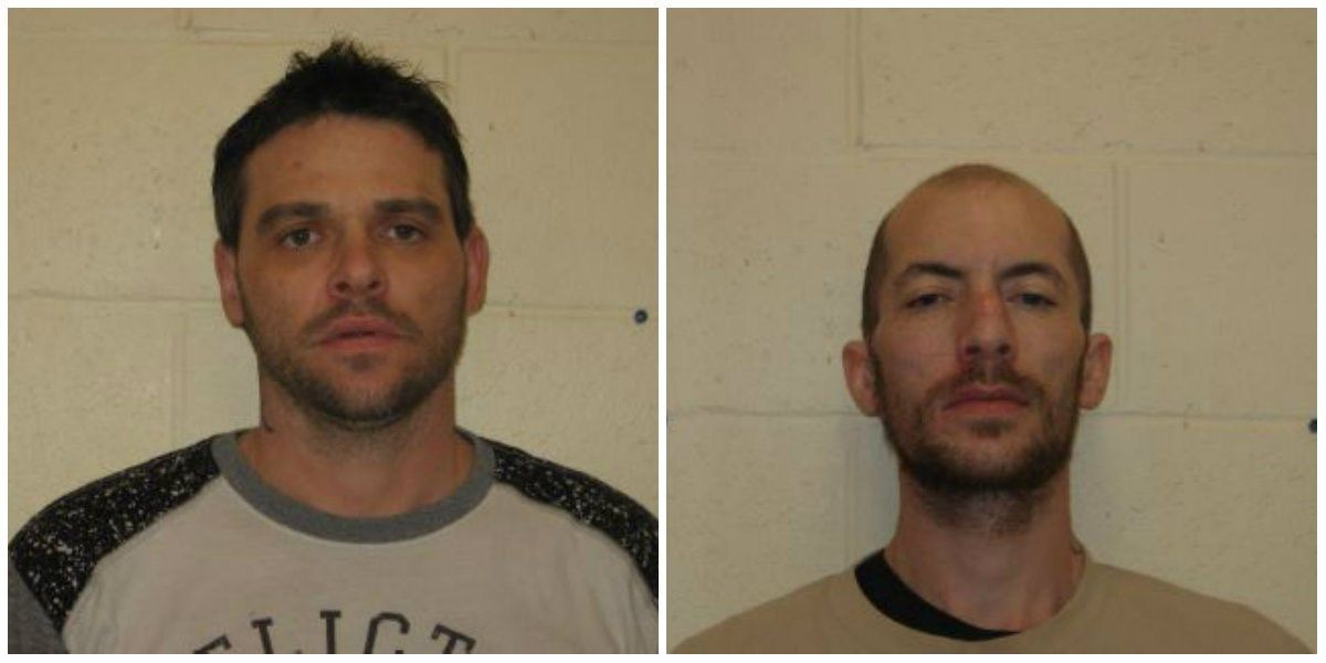 2 men arrested after traffic stop in West Frankfort, IL