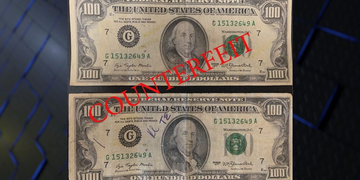 Paducah police say to watch for counterfeit bills after fake money found