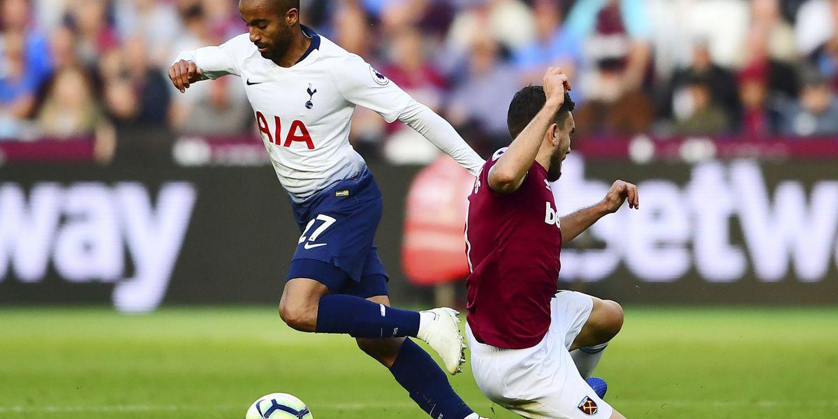 Lamela earns Tottenham 1-0 win at West Ham in Premier League