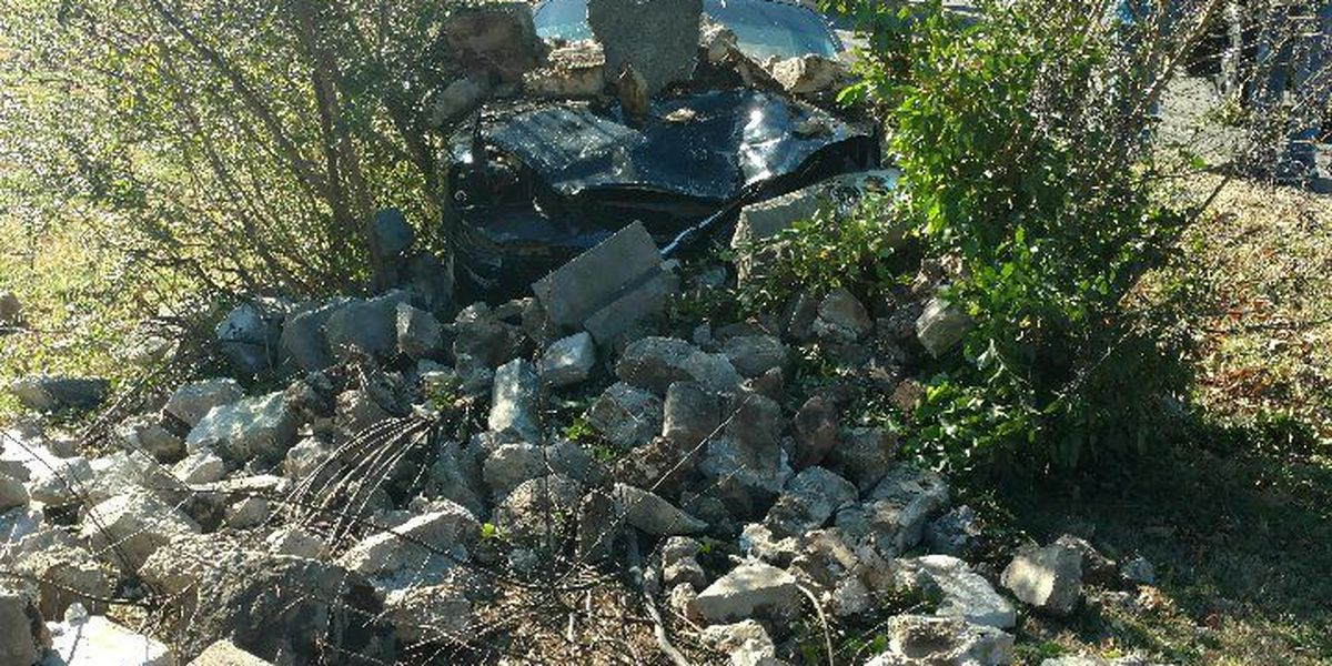 Thanksgiving crash sends McCracken driver to hospital