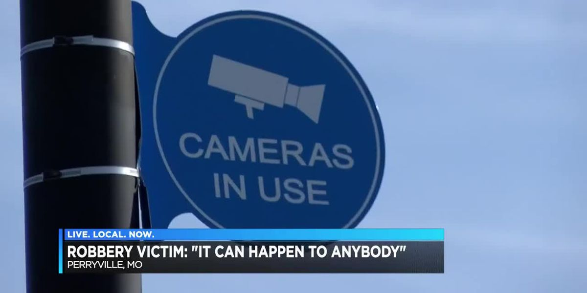 """Robbery victim in Perryville, MO says """"it can happen to anyone"""""""