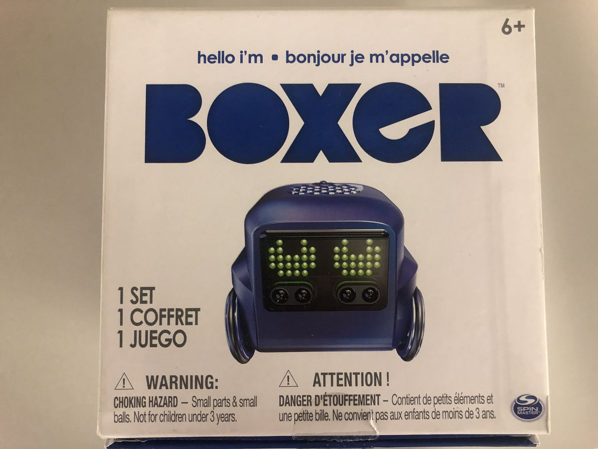 Toy Testers: Boxer the Robot