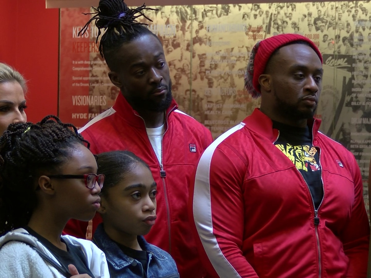 WWE Superstars make $10,000 donation to National Civil Rights Museum