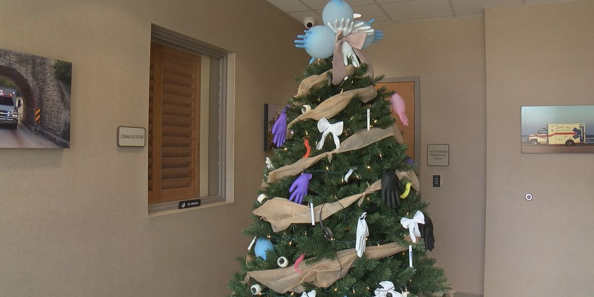 Stoddard County Ambulance District is taking the gloves off when it comes to decorating for Christmas