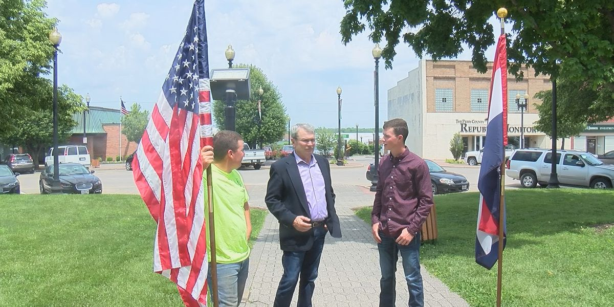 A veteran and his grandson are preparing for a big weekend at the Missouri National Veteran Memorial