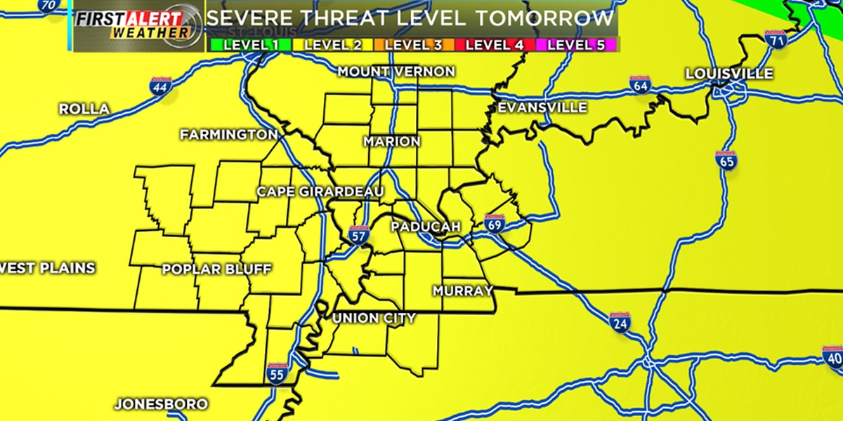 First Alert: Storms possible Wednesday night