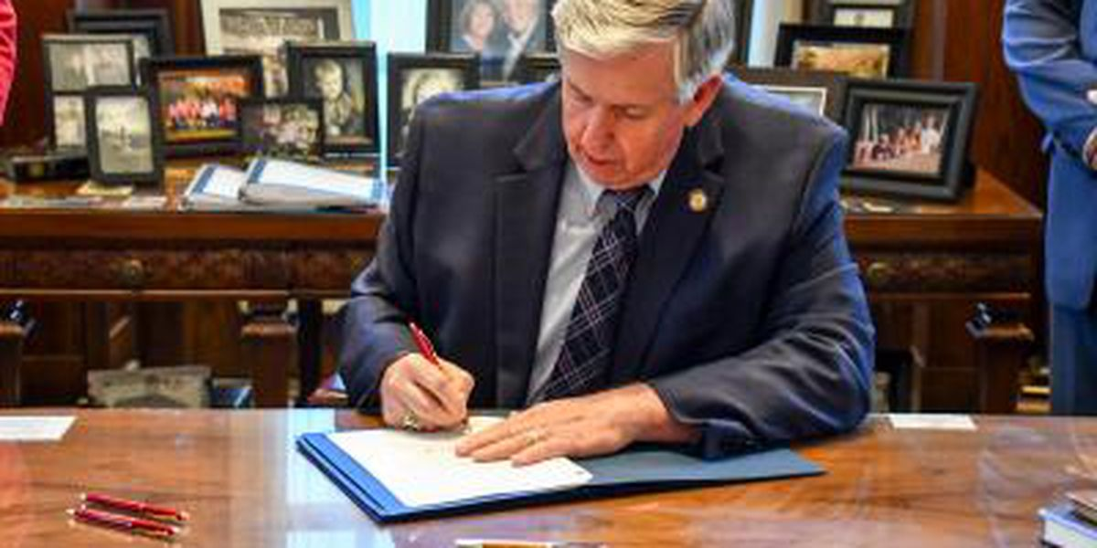 Gov. Parson signs bills to provide additional flexibility for the Missouri FIRST Program