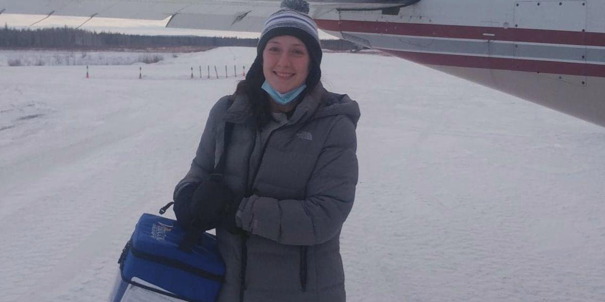 Jackson native gives COVID-19 vaccine shots to individuals in Alaska