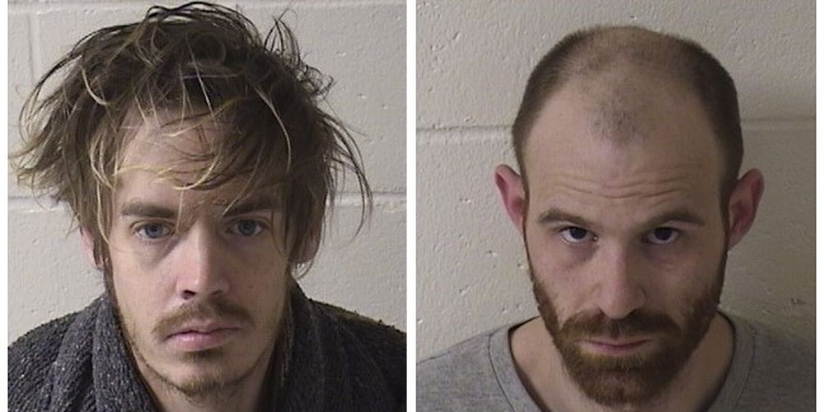2 arrested for breaking into garage