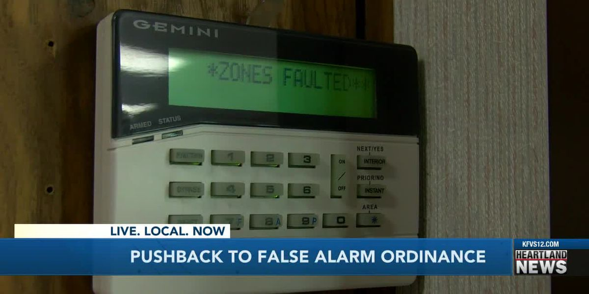 Heartland community pushbacks against false alarm ordinance