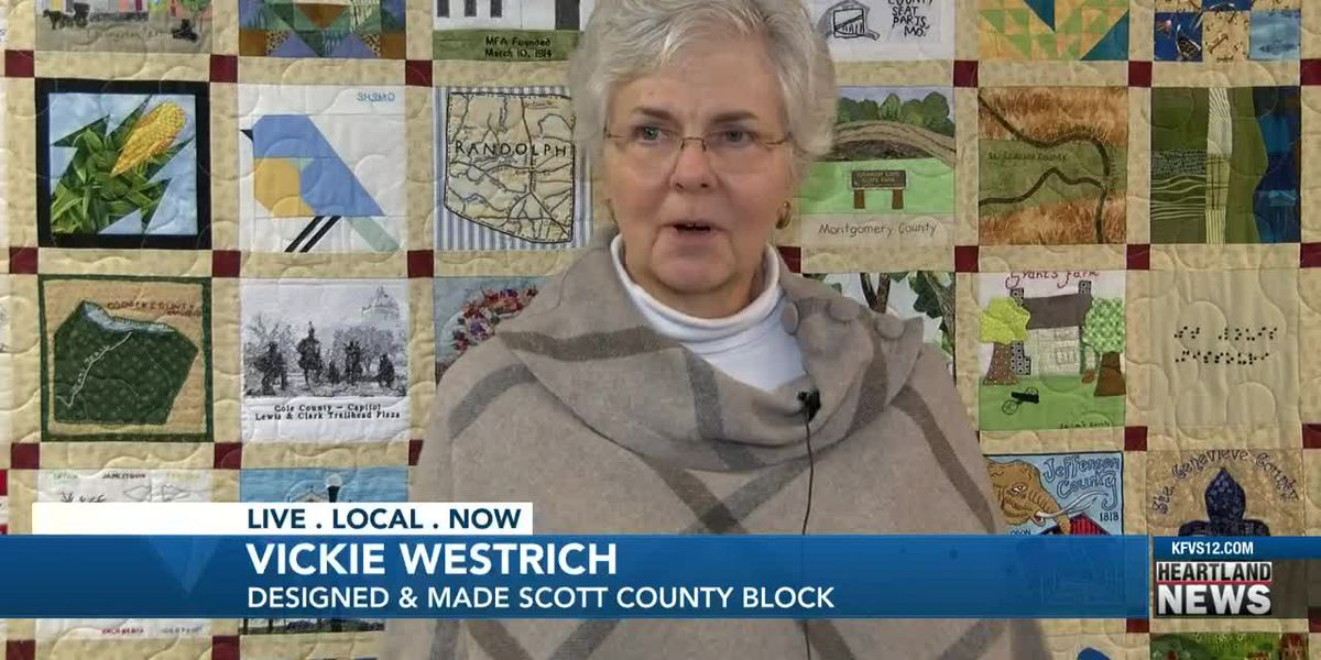 Mo. bicentennial quilt displayed in Scott Co.