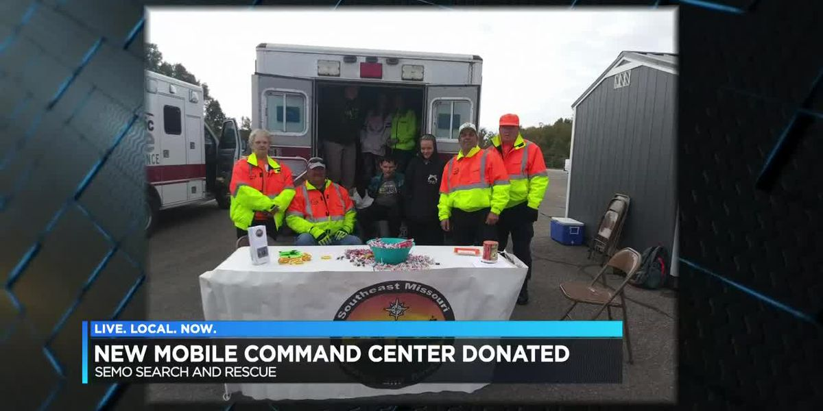 New mobile command center donated