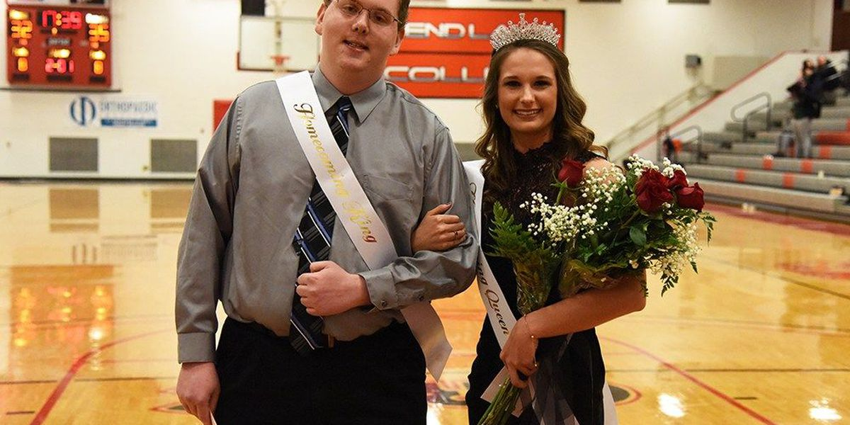 Homecoming king, queen crowned at RLC