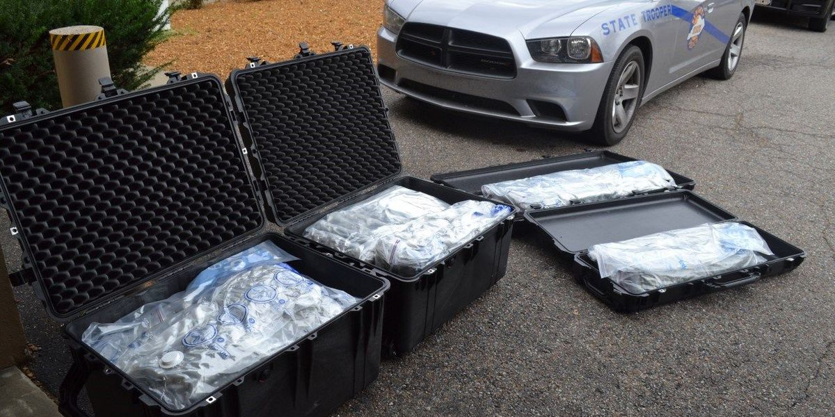 More than 60 lbs. of marijuana seized during traffic stop in McCracken Co.