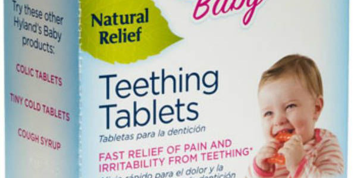 Baby teething tablets recalled due to mislabeling