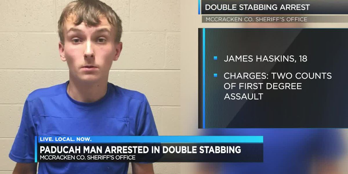 Man arrested in connection to double stabbing