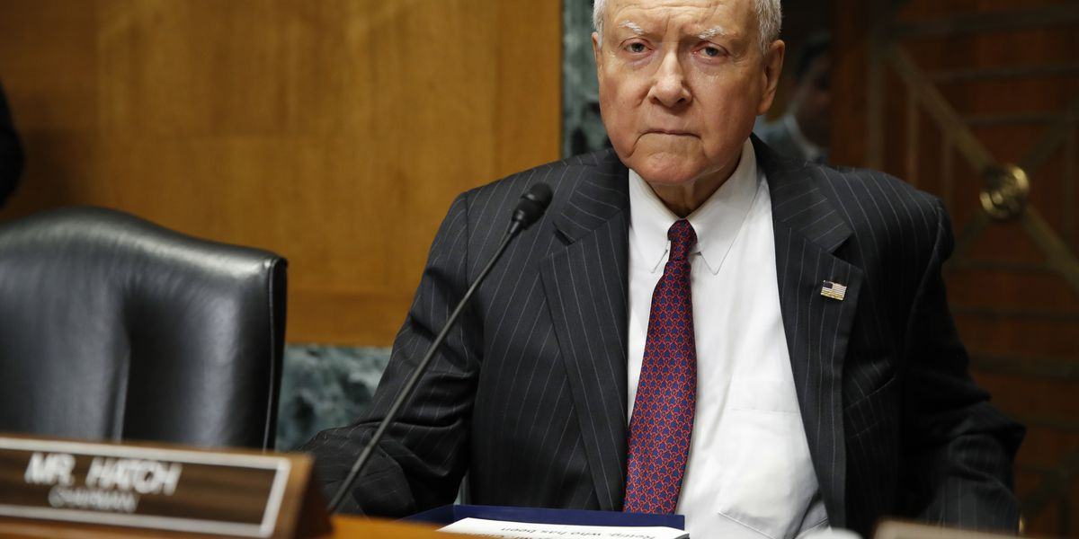 Hatch laments loss of civility for US Senate in 'crisis'