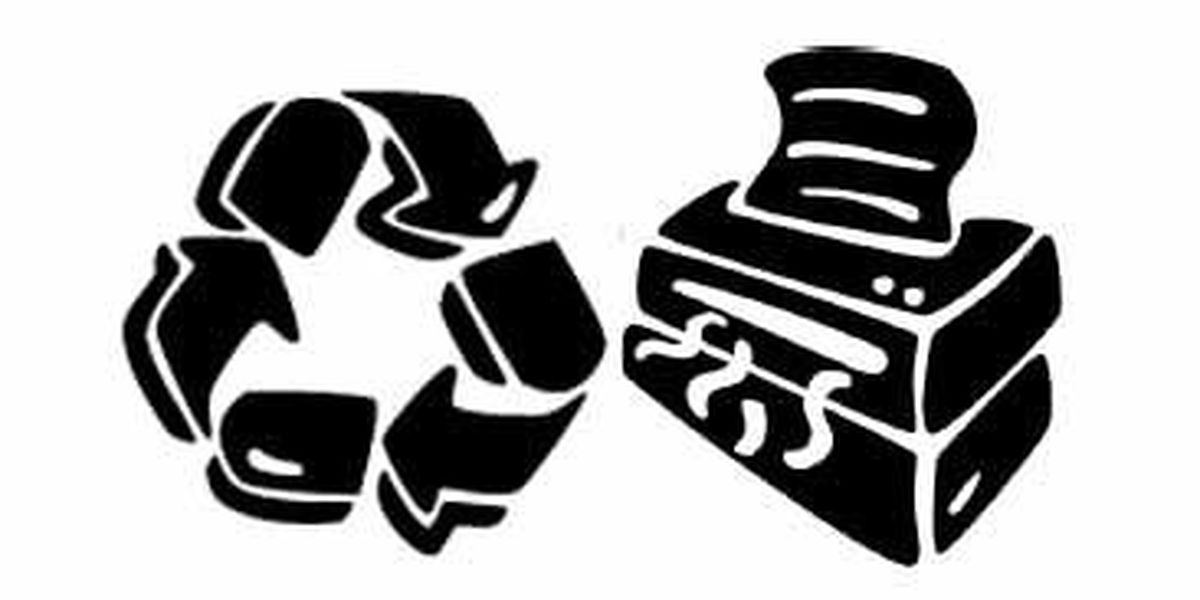 Free shredding and electronics recycling event