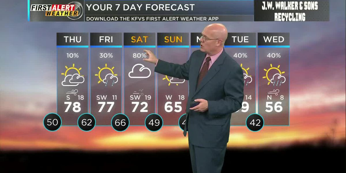 First Alert noon forecast 3/25