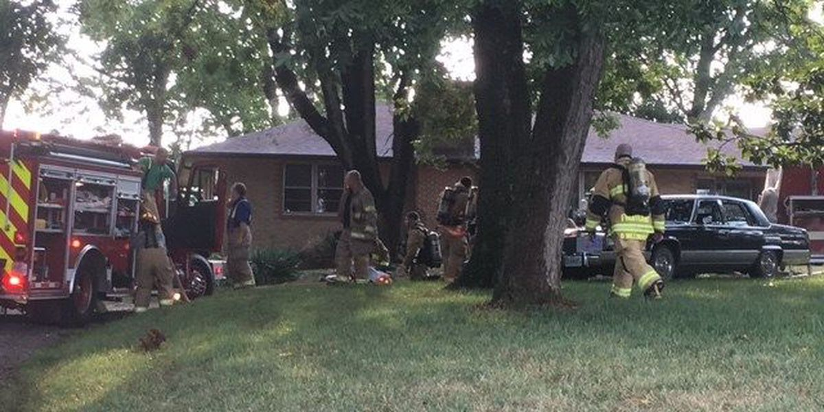 Crews respond to house fire in Jackson, MO