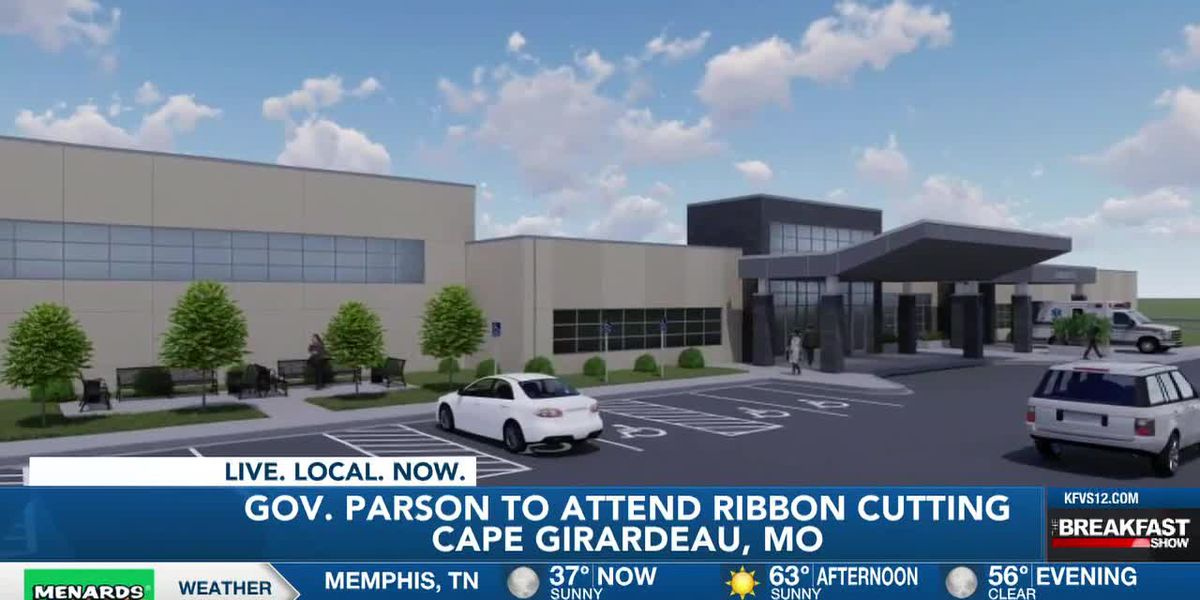 Ribbon-cutting ceremony for new behavioral hospital today; Gov. Parson to participate