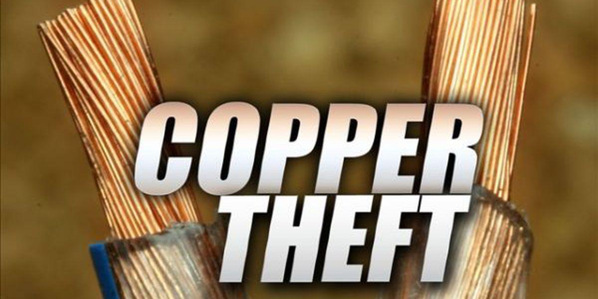 Sikeston authorities investigating copper theft