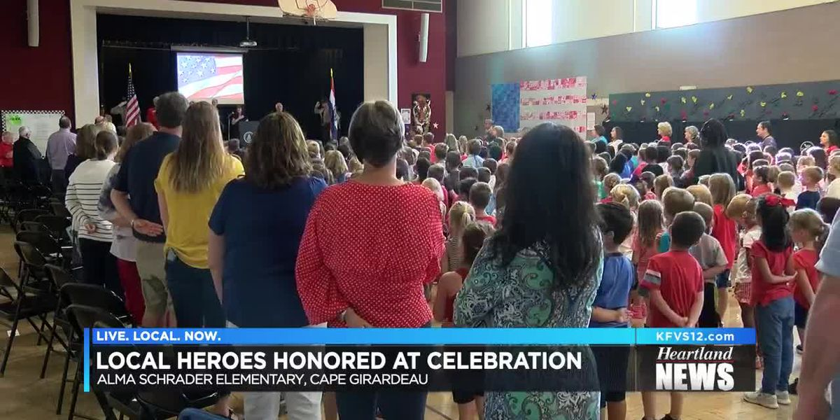 Cape Girardeau elementary school honors heroes in Constitution Day celebration