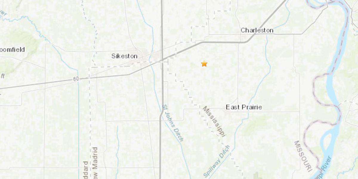 M2.0 earthquake shakes near Sikeston, Mo