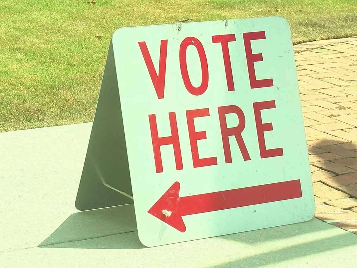 Voting in Graves County for primary election