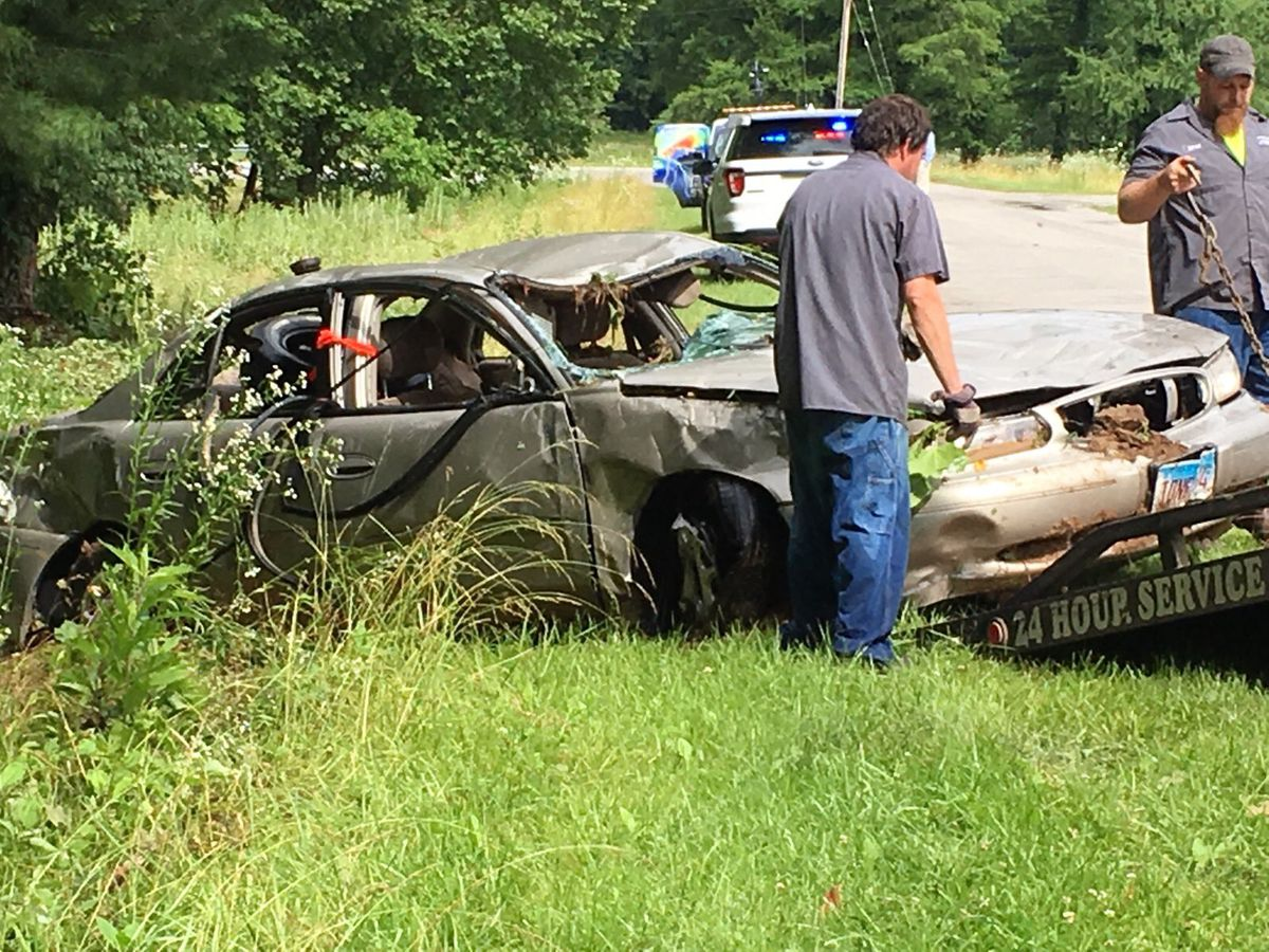 Man survives, woman found dead after vehicle is swept away by flood waters in Union Co.