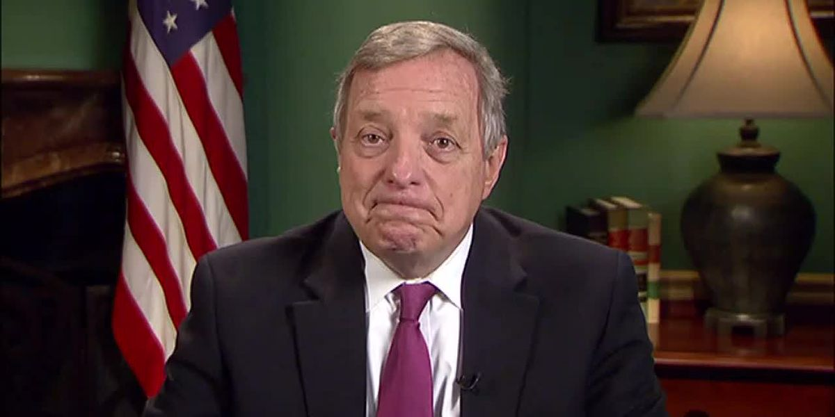 RAW VIDEO: Sen. Dick Durbin interview